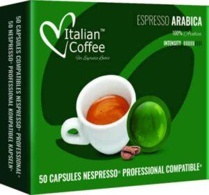 Italian Coffee Nepsresso Professional Arabica 50 kapsułek