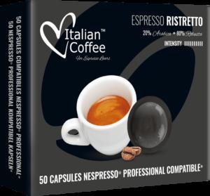 Italian Coffee Nepsresso Professional Ristretto 50 kapsułek