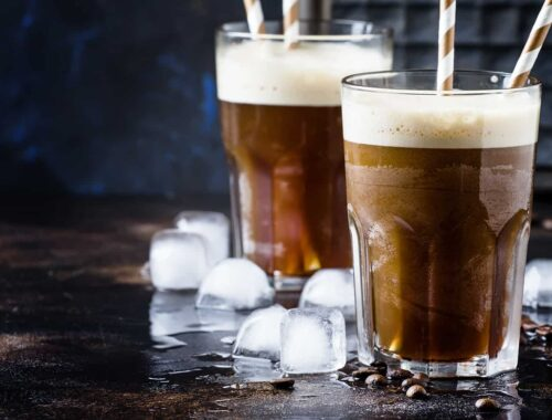 Kawa mrożona cafe frappe