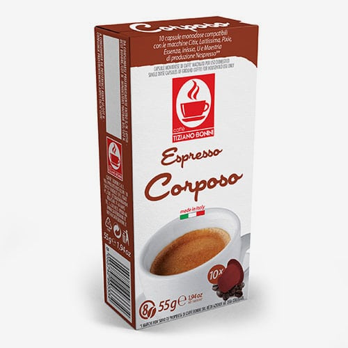 Bonini Corposo - kapsułki do Nespresso - 10 kapsułek