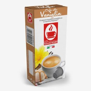 Bonini Vaniglia (kawa aromatyzowana waniliowa) - kapsułki do Nespresso - 10 kapsułek