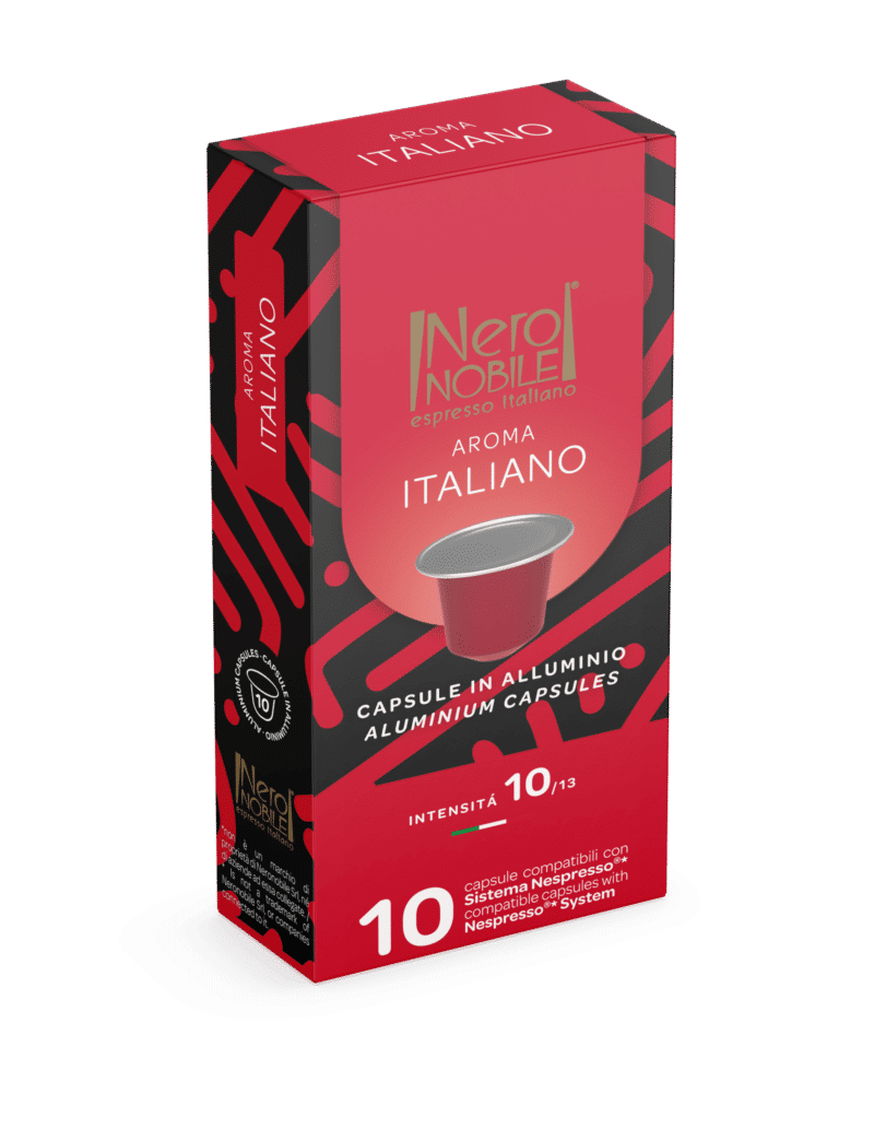 Kapsulki Nespresso Nero Nobile AROMA ITALIANO