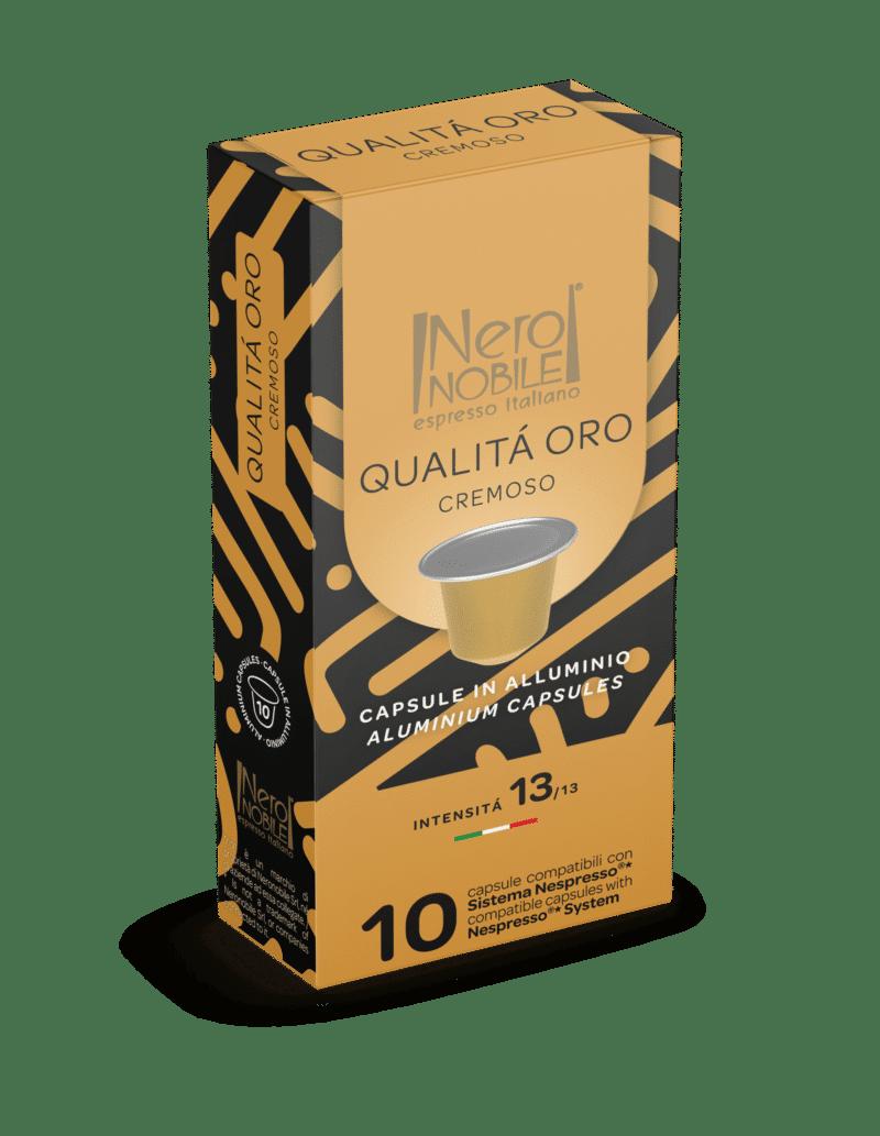 Kapsułki Nespresso Nero Nobile QUALITA ORO